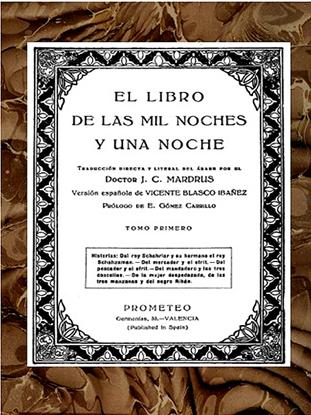 Imagen de El Libro de las Mil y una Noches, Tomo 1